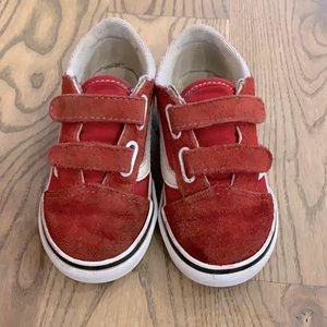 Toddler Old Skool V sneakers in red